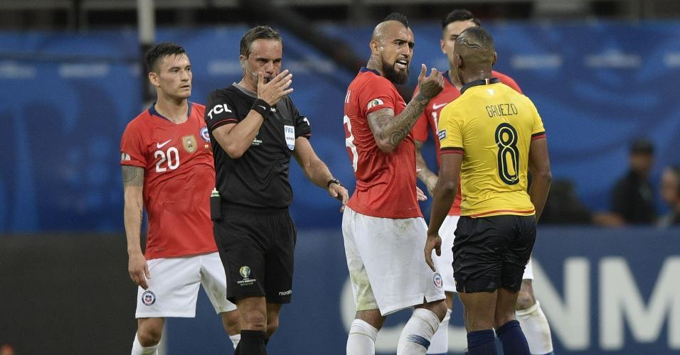 Chile Equador Copa América