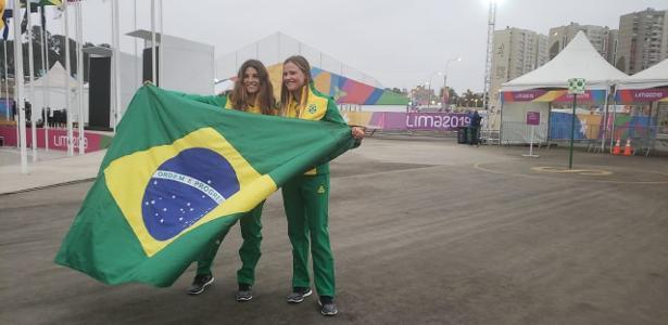 No Peru | Martine e Kahena serão as portas-bandeiras do Brasil na cerimônia do Pan