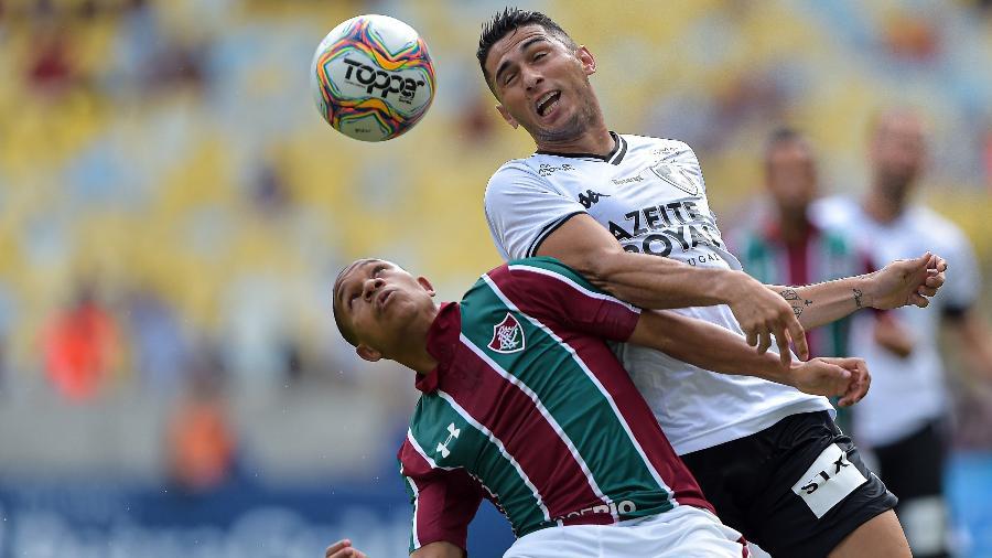 Fluminense venceu o Botafogo em duelo na fase de grupos do Carioca - Thiago Ribeiro/AGIF