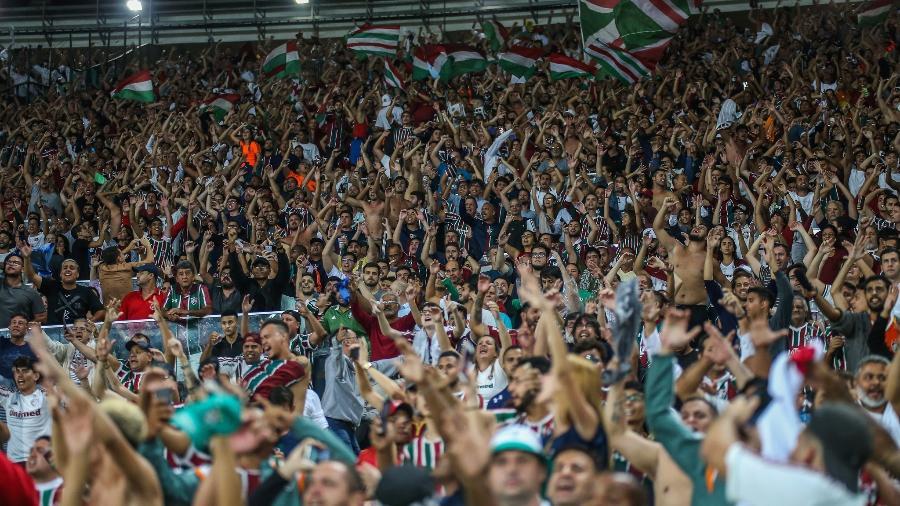 Torcida do Fluminense se mobilizou nas redes sociais por associação em massa - LUCAS MERÇON/ FLUMINENSE F.C.