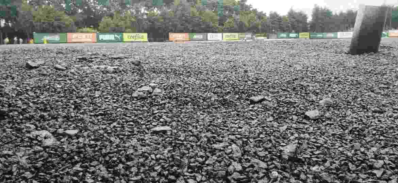 Campo do CT do Palmeiras passa por reforma para receber gramado sintético - Danilo Lavieri/UOL Esporte
