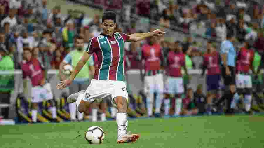 Igor Julião tem sido o novo titular da lateral direita do Flu, após saída de Gilberto - Lucas Merçon/Fluminense FC