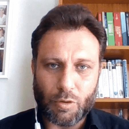 André Loffredo, comentarista do SporTV - Reprodução/SporTV