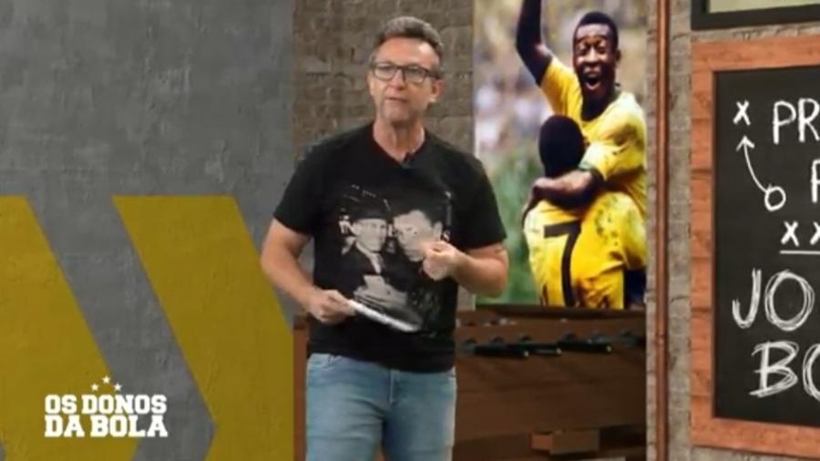 Neto parabeniza Neymar por protesta contra racismo em jogo do PSG - Reprodução/Band