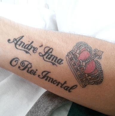Na perna de Darlei, André Lima virou 'Rei Imortal' e até com coroa