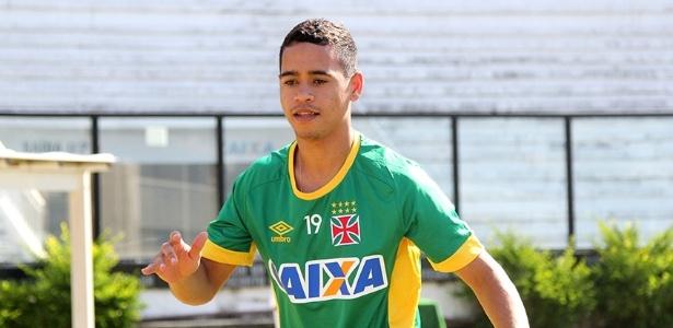 Yago Pikachu durante a pré-temporada do Vasco em São Januário