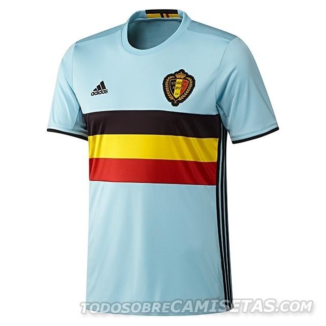 GRUPO E: Bélgica (camisa reserva, adidas)
