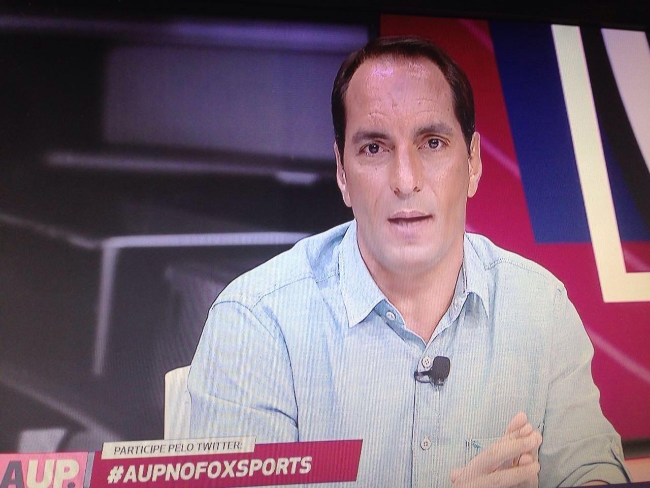 Edmundo faz estreia na Fox Sports