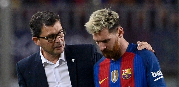 Messi está fora dos campos desde o dia 21 de setembro