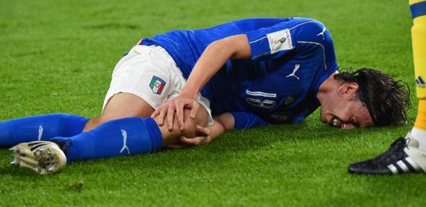 Montolivo rompeu o ligamento cruzado anterior do joelho esquerdo em falta de Sergio Ramos