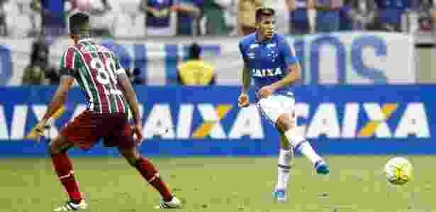 Lucas Romero perdeu espaço no Cruzeiro de Mano Menezes - Washington Alves/Light Press/Cruzeiro