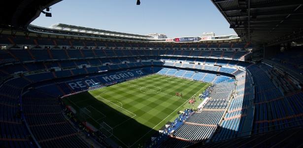 Santiago Bernabéu vai receber a decisão entre River Plate x Boca Juniors, no próximo dia 9