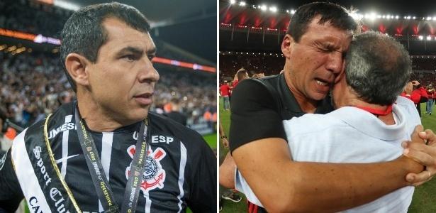 Carille Zé Ricardo Corinthians Flamengo