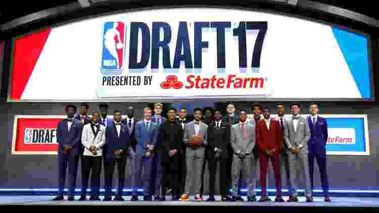 Jogadores do draft de 2017 - Mike Stobe/Getty Images/AFP - Mike Stobe/Getty Images/AFP