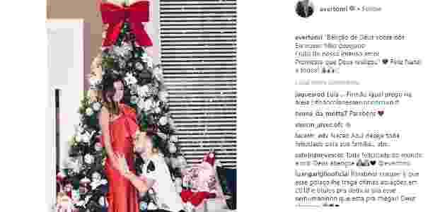 Everton Ribeiro será papai - Reprodução/Instagram