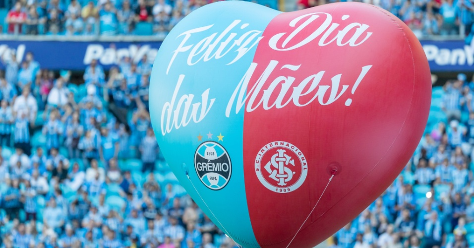 Grêmio e Internacional duelam na Arena um dia antes do Dia das Mães