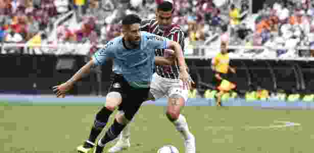 Marcelo Oliveira, durante partida entre Grêmio e Fluminense - MAILSON SANTANA/FLUMINENSE FC - MAILSON SANTANA/FLUMINENSE FC