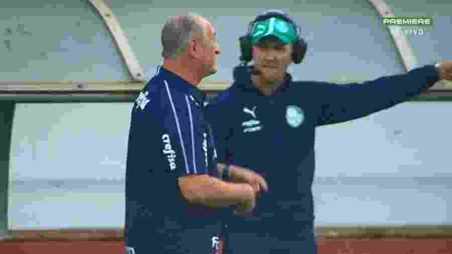 Paulo Turra, auxiliar do técnico Luiz Felipe Scolari  - Reprodução
