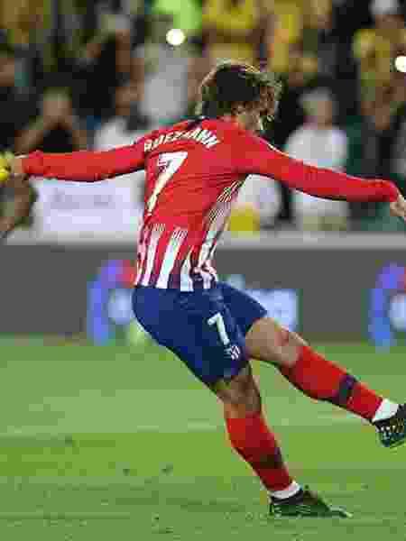 Atacante francês já anunciou sua saída do Atlético de Madri, mas destino ainda é incerto - Ángel Gutiérrez/Atlético de Madrid