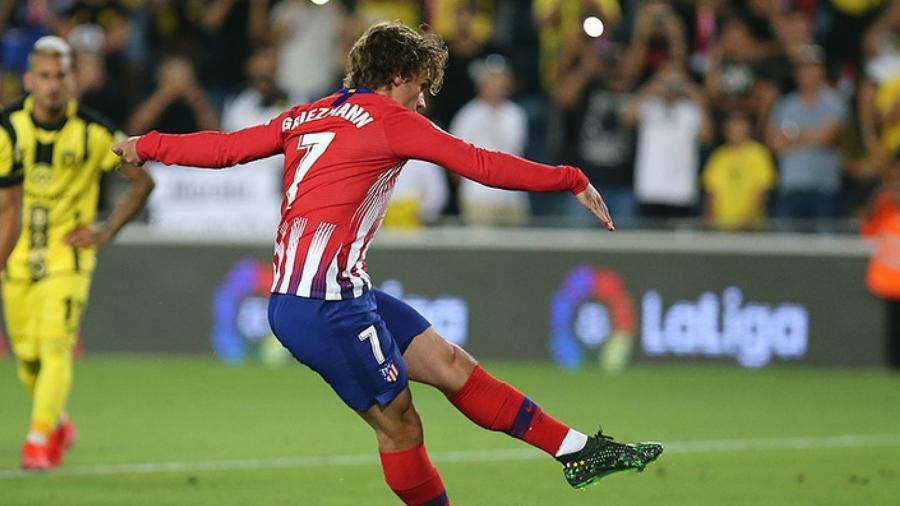 Antoine Griezmann marca gol pelo Atlético de Madri  - Ángel Gutiérrez/Atlético de Madrid