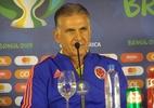 """Técnico da Colômbia vê favoritismo do Chile: """"Não temos nada a perder"""" - Gabriel Carneiro/UOL"""