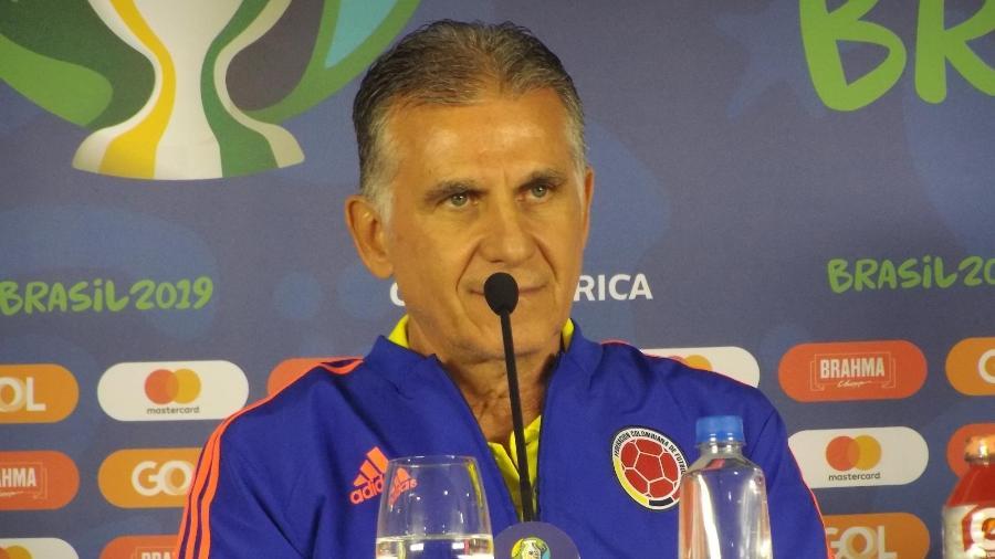 Carlos Queiroz, técnico da seleção da Colômbia - Gabriel Carneiro/UOL