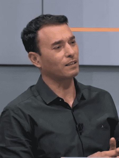 André Rizek durante o programa Seleção SporTV - Reprodução/SporTV
