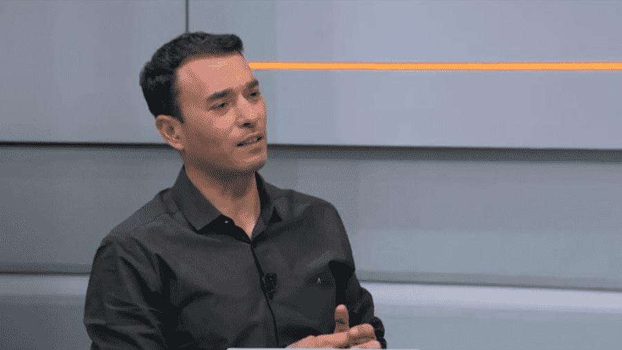 """André Rizek durante o programa """"Seleção SporTV"""" - Reprodução/SporTV"""