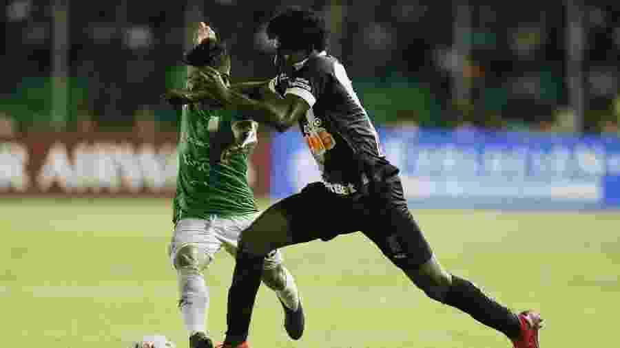 Jogadores do Vasco sofreram insultos raciais na partida contra o Oriente Petrolero, na Bolívia - Foto: Rafael Ribeiro/Vasco