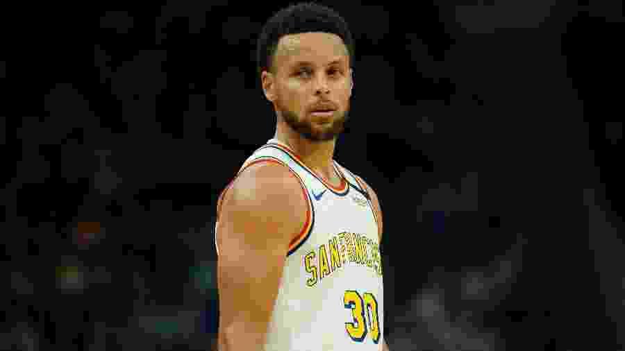 Steph Curry ganhou marca própria em parceria com a Under Armour - Stan Szeto/USA Today Sports