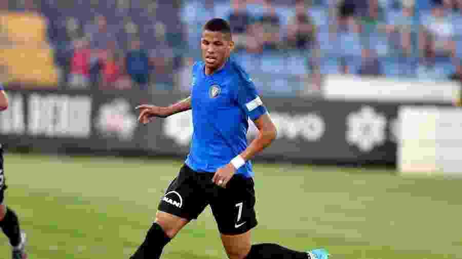Aos 24 anos, atacante filho do pentacampeão mundial entrou no radar do Cruzeiro há dois meses - Divulgação/Vittorul Constanta