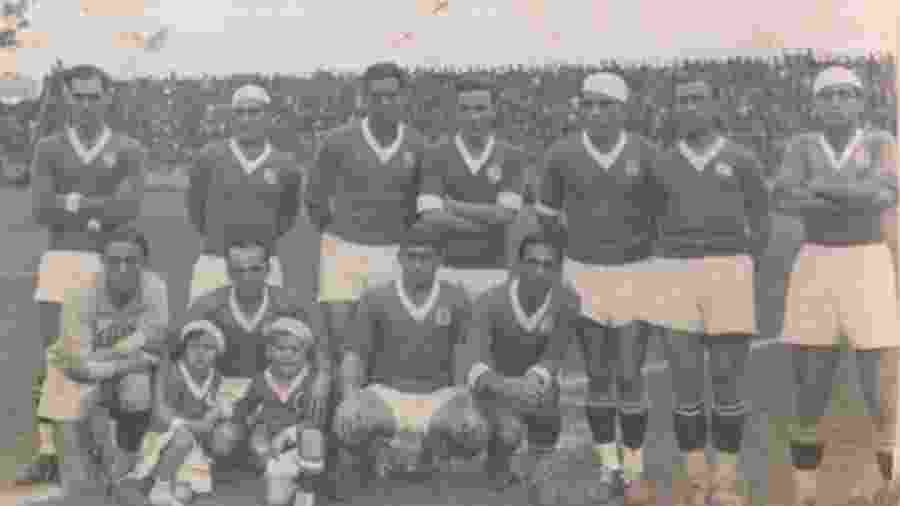 Palestra Itália conquistou o tricampeonato paulista em 1932, 1933 e 1934 (foto) - Divulgação/Palmeiras