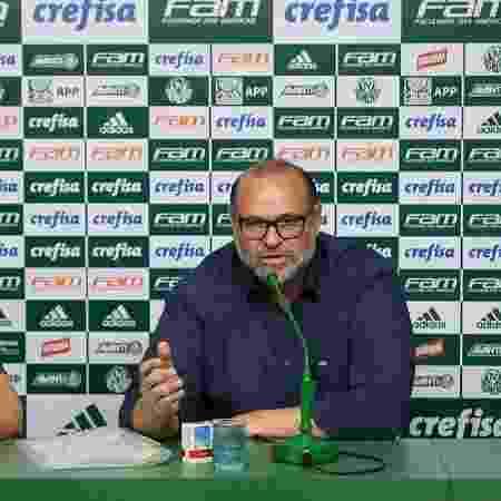 Rubens Sampaio concede entrevista coletiva no Palmeiras durante a temporada 2016 - Cesar Greco/Palmeiras