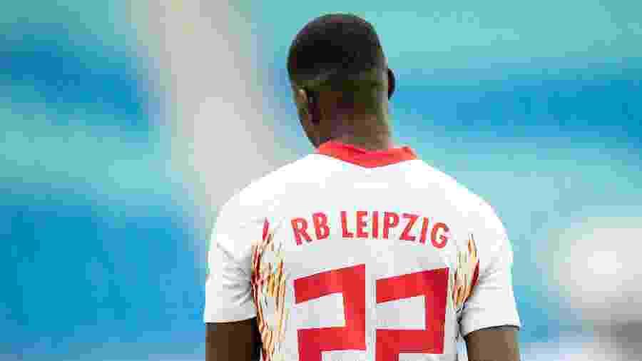 Jogador do RB Leipzig - Maja Hitij/Getty Images
