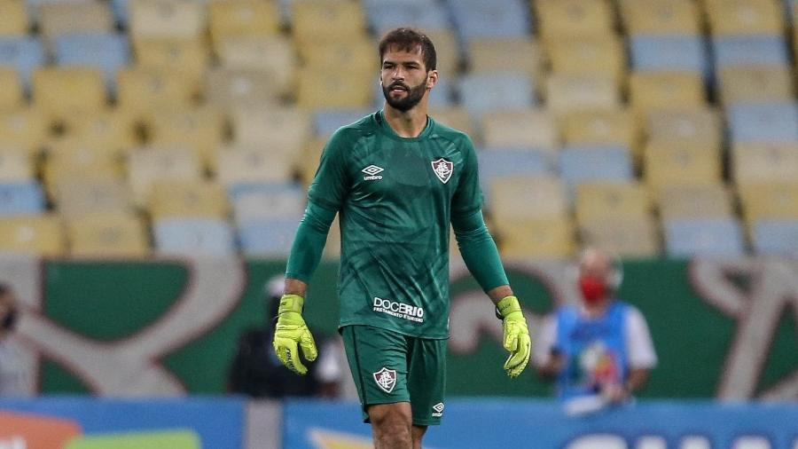Muriel viu boa atuação do Fluminense apesar de derrota para o Grêmio na estreia do Brasileirão - LUCAS MERÇON / FLUMINENSE F.C.
