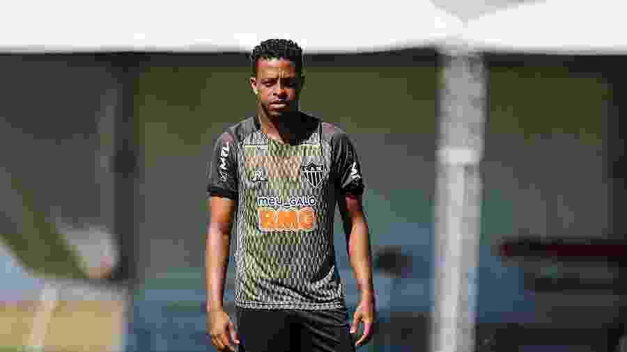 Keno, atacante do Atlético-MG, é escalado como titular no último compromisso da primeira fase do Mineiro - Pedro Souza/Atlético-MG