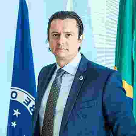 O presidente Sérgio Santos Rodrigues - Igor Sales/Cruzeiro