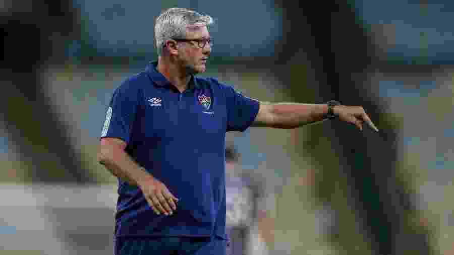 Odair Hellmann, do Fluminense, é o técnico brasileiro melhor colocado no Brasileirão - Lucas Merçon / Fluminense