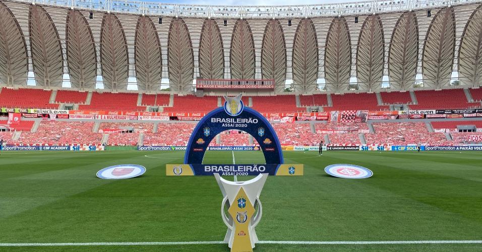 Beira-Rio, antes da partida entre Inter e Flamengo