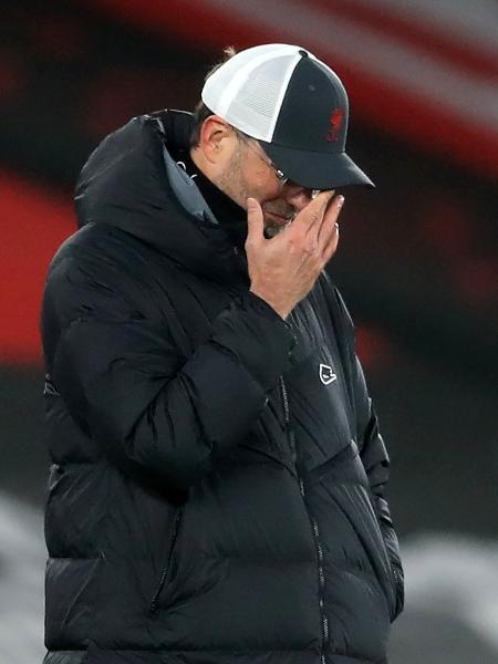 Klopp critica a arbitragem no jogo entre Liverpool e Real Madrid - ADAM DAVY/AFP