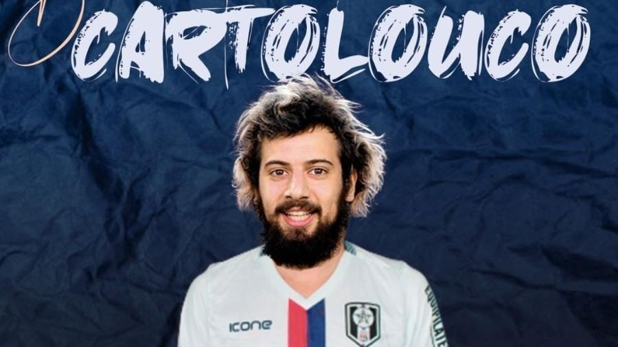 Resende anunciou a contratação de Cartolouco para a disputa do Campeonato Carioca - Divulgação/Resende