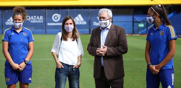 Presidente do Boca Juniors é internado com quadro de covid-19