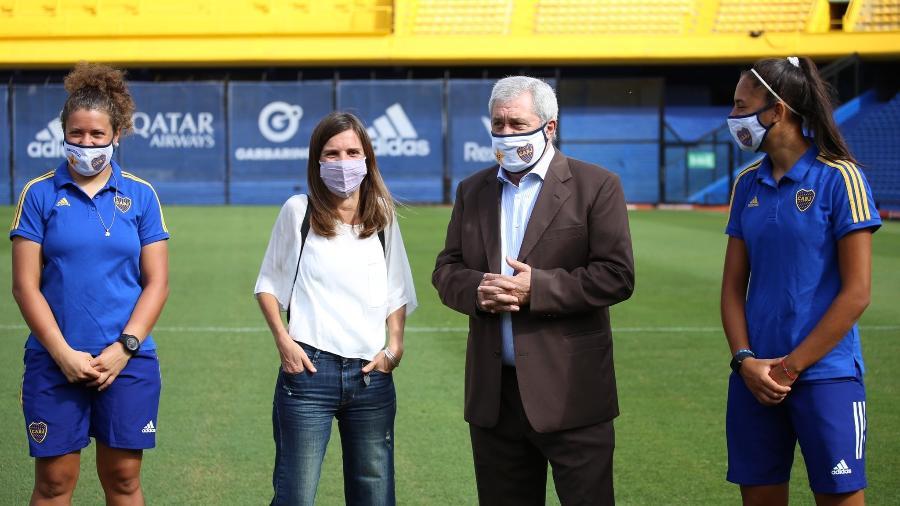 Presidente do Boca Juniors está se recuperando da covid-19 - Reprodução/Twitter Jorge Amor Ameal