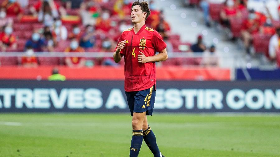 Pau Torres, zagueiro da seleção da Espanha - Getty Images