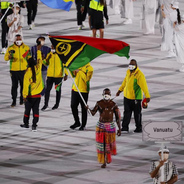 Vanuatu tratou de trazer seu próprio besuntado para Tóquio