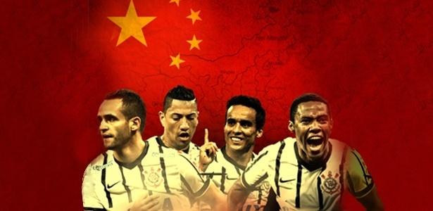 China vem investindo forte em brasileiros e provocou desmanche no Corinthians