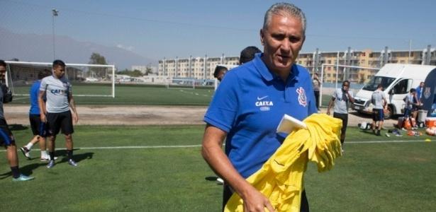 """Técnico vê time """"se moldando"""" - Daniel Augusto Jr/site oficial do Corinthians"""