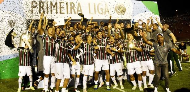 Fluminense conquistou o título da Primeira Liga em 2016 - MAILSON SANTANA/FLUMINENSE FC