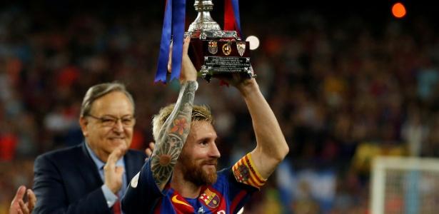 Messi já era o segundo capitão do time