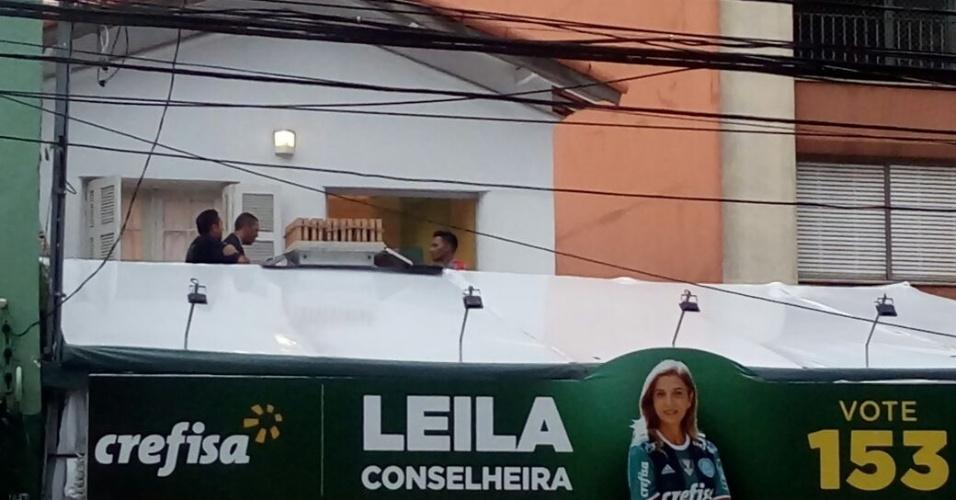 Comitê de Leila Pinheiro prepara festa da eleição para conselheira do Palmeiras
